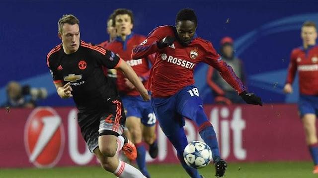CSKA Moscu vs Manchester United en vivo Champions 27 Septiembre
