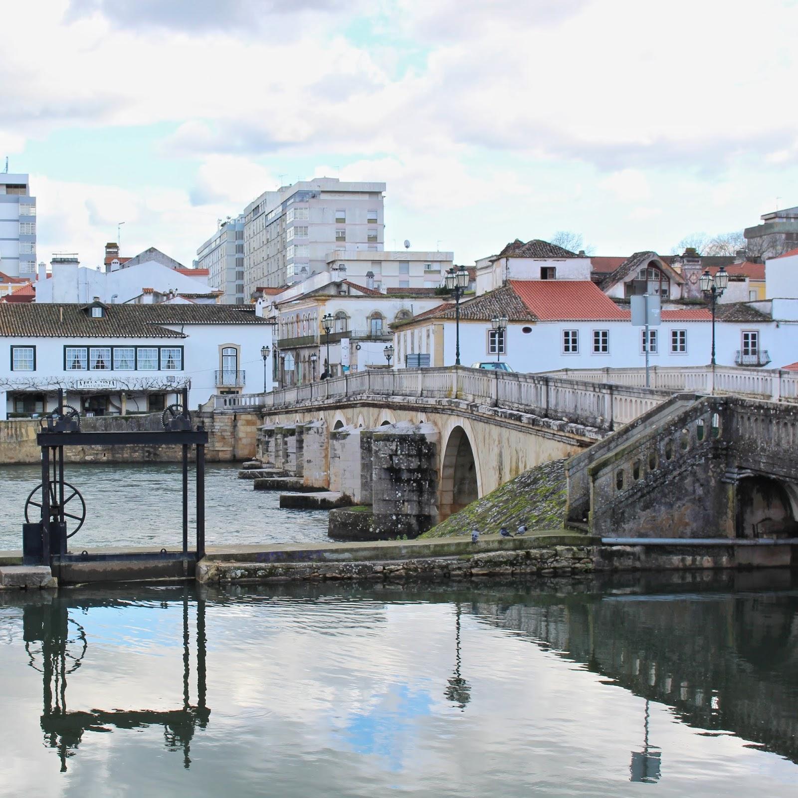 Rio Nabão, Parque do Mouchão, Tomar