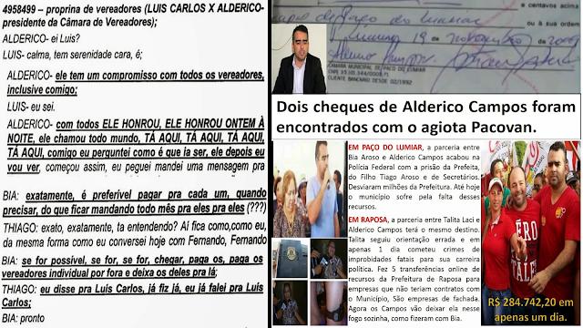 Agência de Notícias revela que candidaturas em Paço do Lumiar está servindo de alojamento para organização criminosa