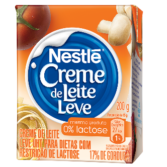 Nestlé lança versão zero lactose de seu tradicional creme de leite
