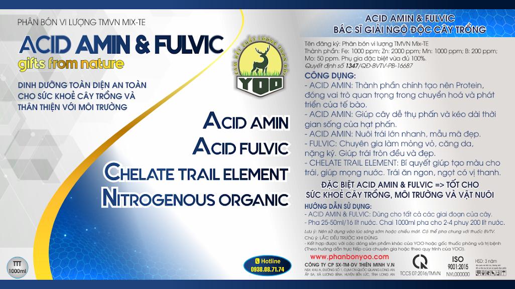 ACID AMIN & FULVIC