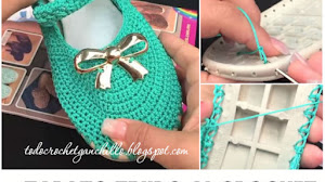 Cómo armar zapatos tejidos al crochet / Tutorial completo