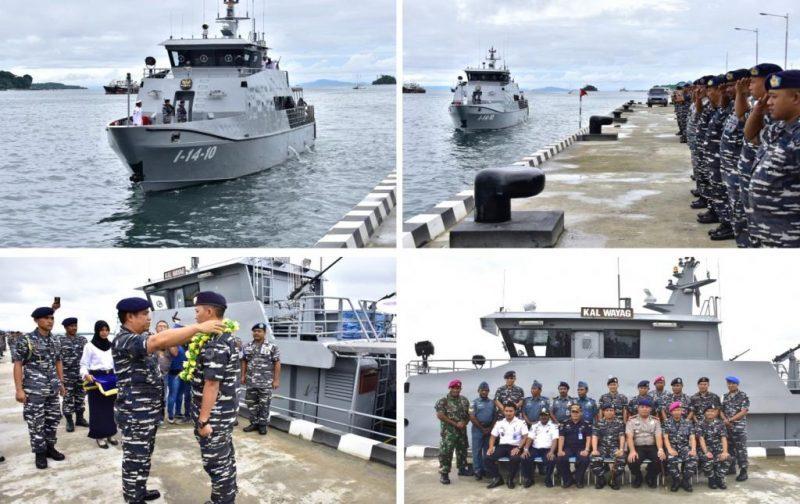Kapal Angkatan Laut (KAL 28 M) Wayag I-14-10 buatan PT. Karimun Anugerah Sejati