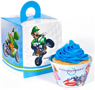 Super Mario Cupcake Wrapper