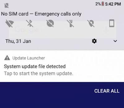 Install Android 9 Pie di Zenfone Max Pro M1