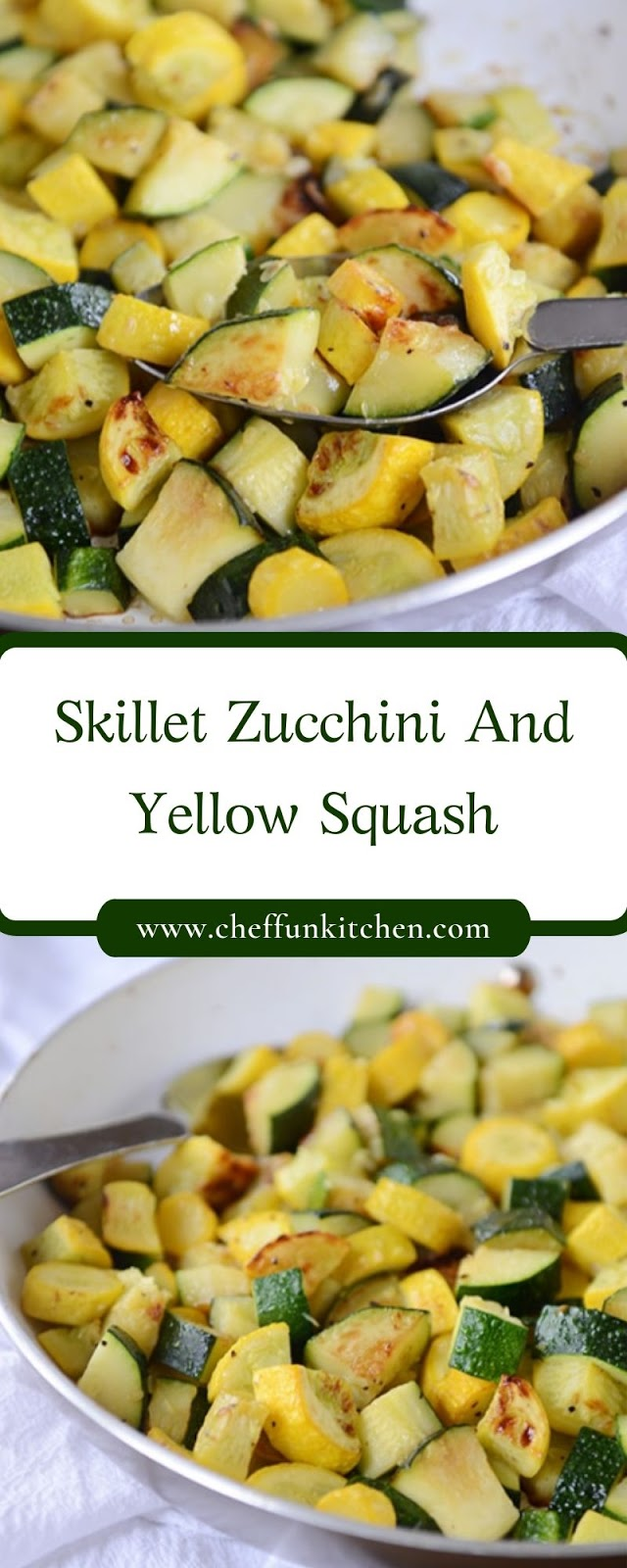 Skillet Zucchini And Yellow Squash
