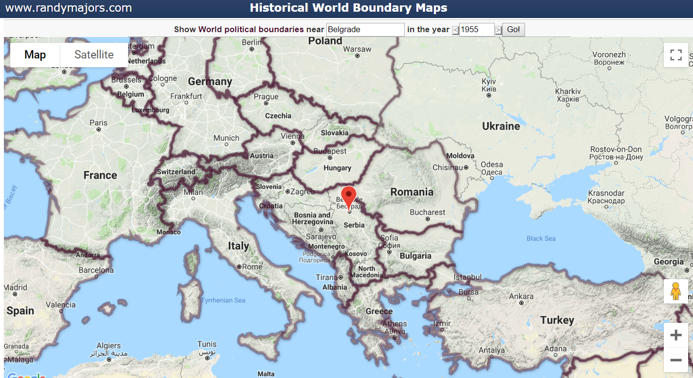 Historical World Boundary Maps Back To 2000 Bc Free Tools On