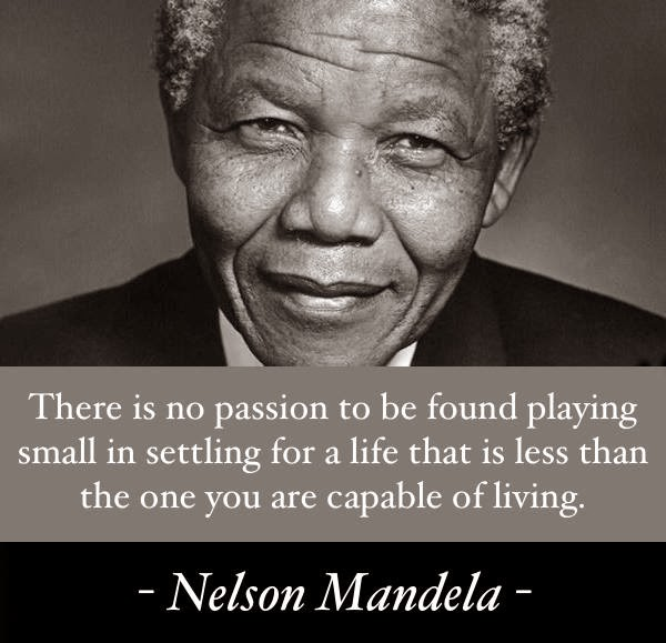 Nelson Mandela Quotes On Change: Mindful Serenity: Warrior For Peace