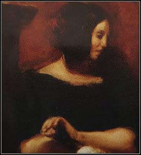 Πίνακας με το πορτρέτο της Γεωργίας Σάνδη