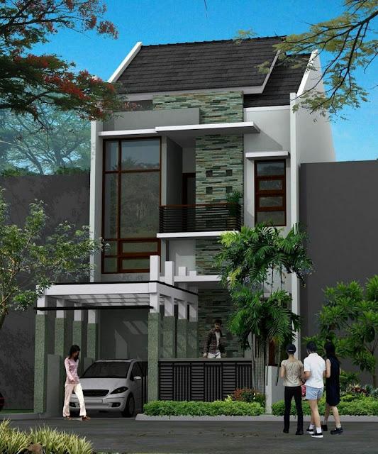2 Floor House Design Type 21