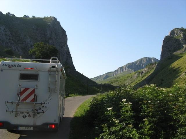 Romania amb autocaravana
