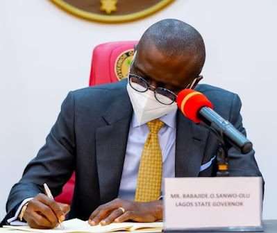 SD News Blog, breaking news Nigeria, Abuja lifestyle blogger,BREAKING: Lagos Governor, Sanwo-Olu Signs Value Added Tax Bill Into Law