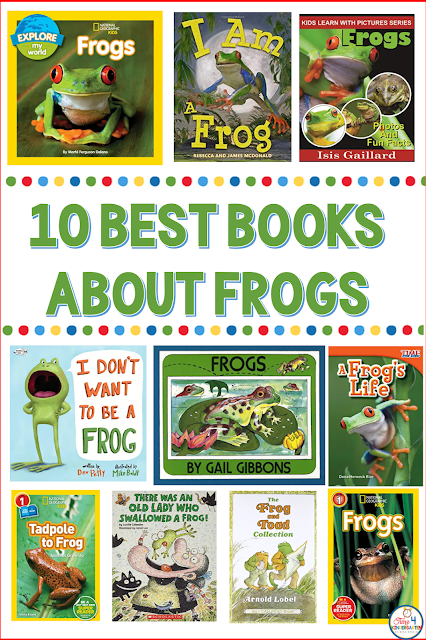 10 Best Books About Frogs