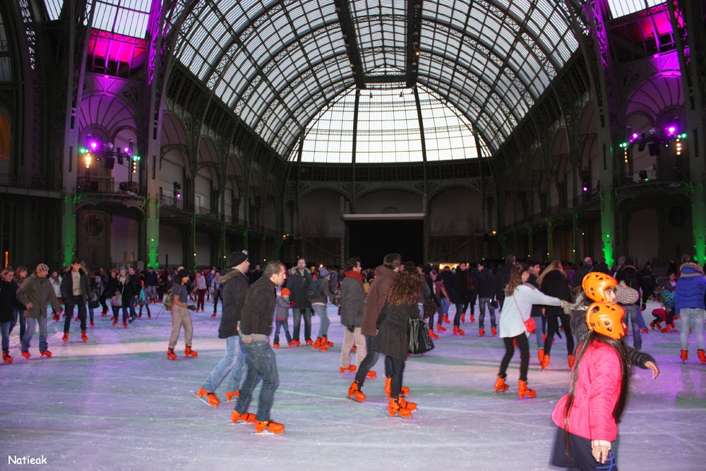 Grand Palais de Paris Ferrero  patinoire