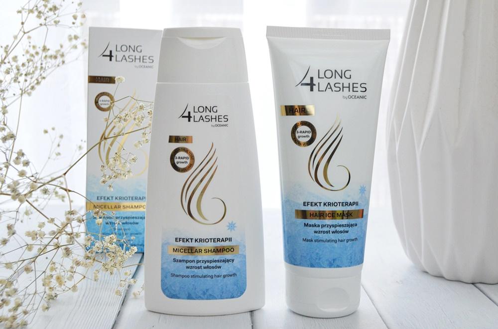 szampon i odżywka do włosów przyspieszające porost włosów od marki 4LongLashes