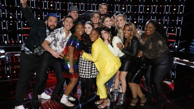 'The Voice' Season 17 announce Top 13 contestants