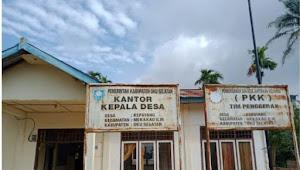 BLT Dana Desa Diduga Menjadi Ajang Korupsi di OKU Selatan