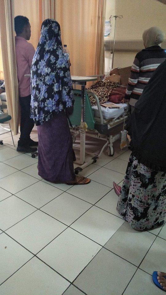Lembaga Peduli Kunjungi Pak.Rusli Penderita Lumpuh dari Aceh Utara