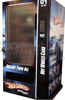 hot wheels virtual vending machine