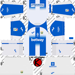 CD Leganes 2019/2020 Kit - Dream League Soccer Kits