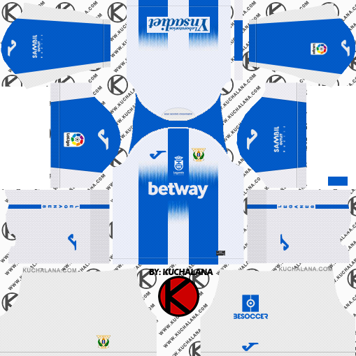 CD Leganes 2019/2020 Kit - Dream League Soccer Kits