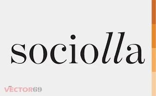 Logo Sociolla - Download Vector File AI (Adobe Illustrator)
