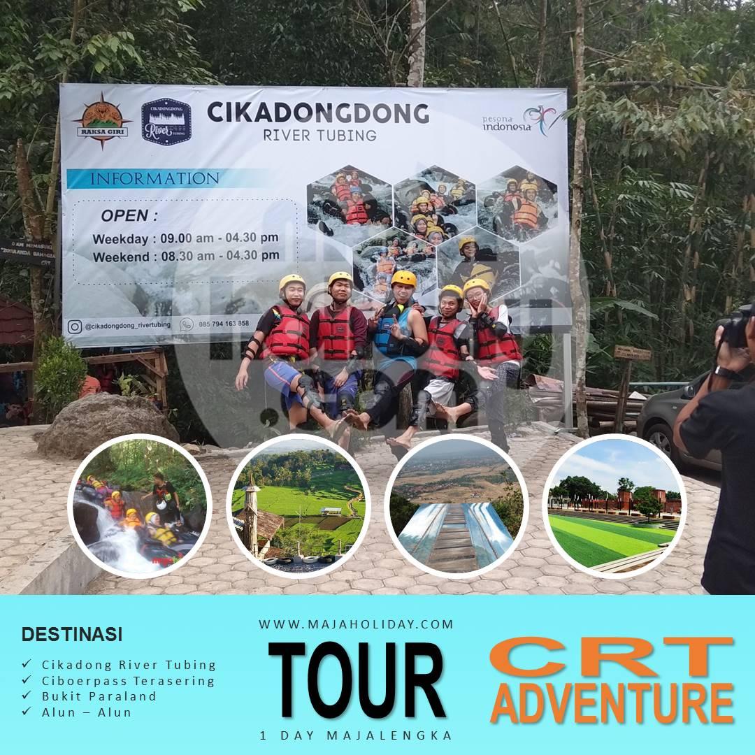 Paket Wisata Cikadongdong River Tubing