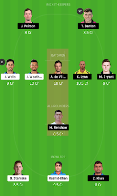 STR vs HEA dream 11 team | HEA vs STR