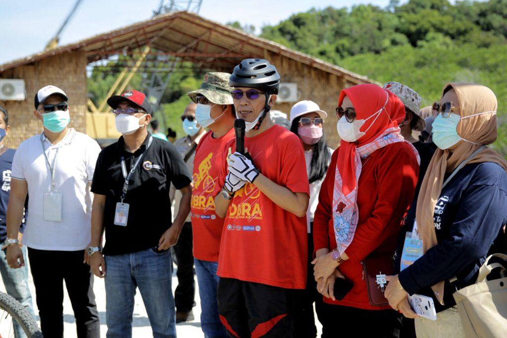 Sebanyak 70 Peserta Mengikuti Sepeda Kepri Coral Bike And Adventure