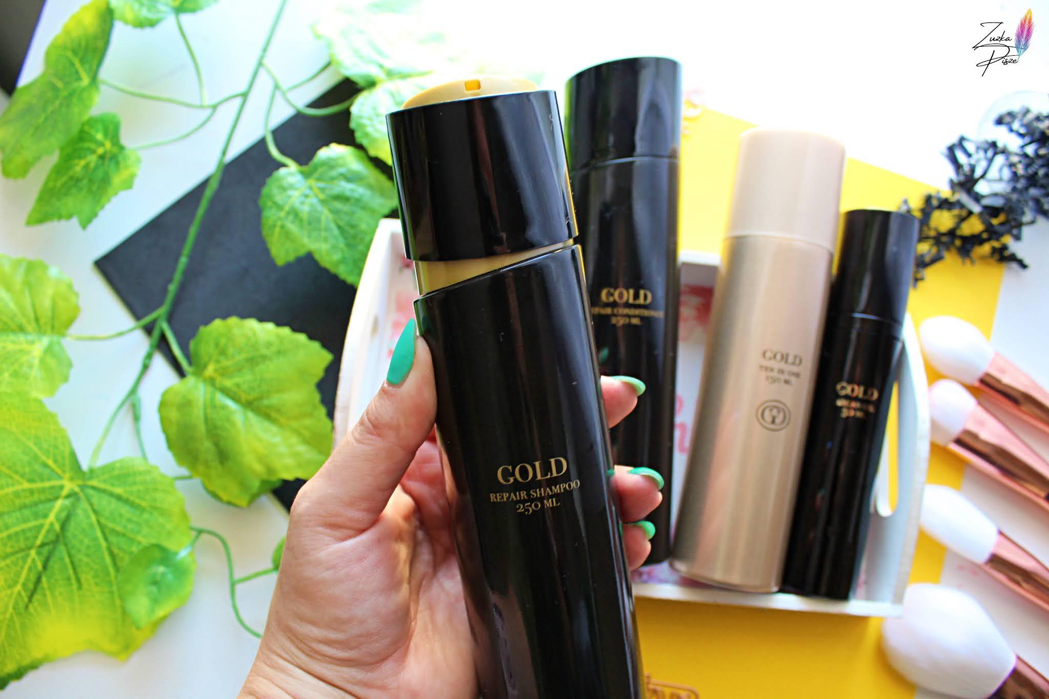 Gold Repair shampoo - szampon regenerujący 250 ml
