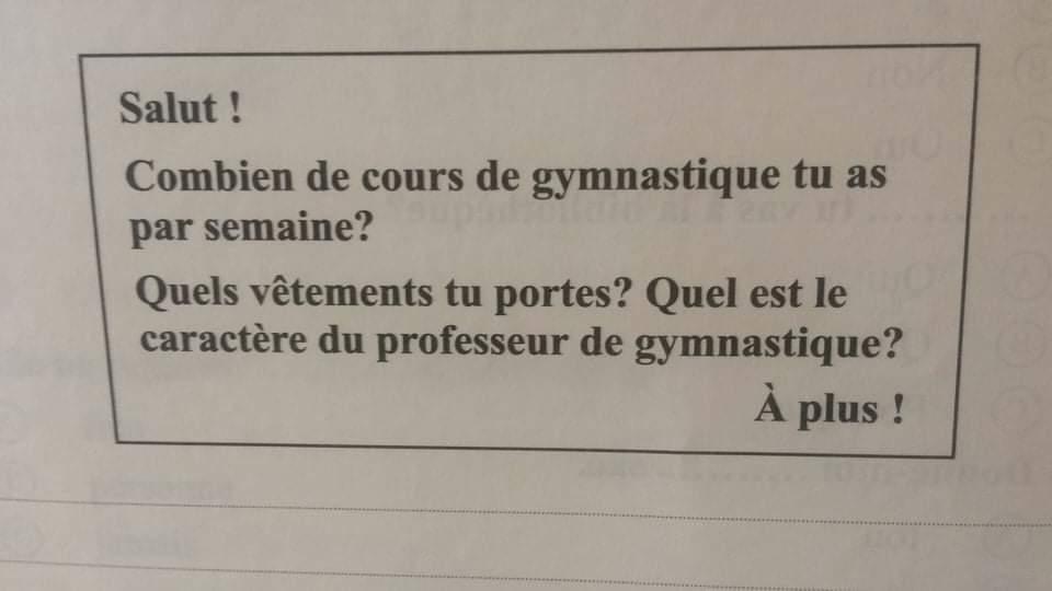 بوكليت امتحان اللغة الفرنسية للصف الثالث الثانوى الدور الأول2020 بنموذج الإجابة