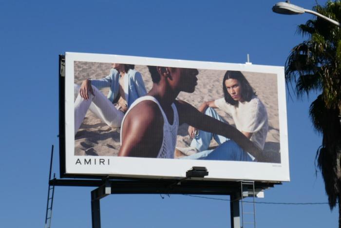 Amiri fashion 2020 billboard