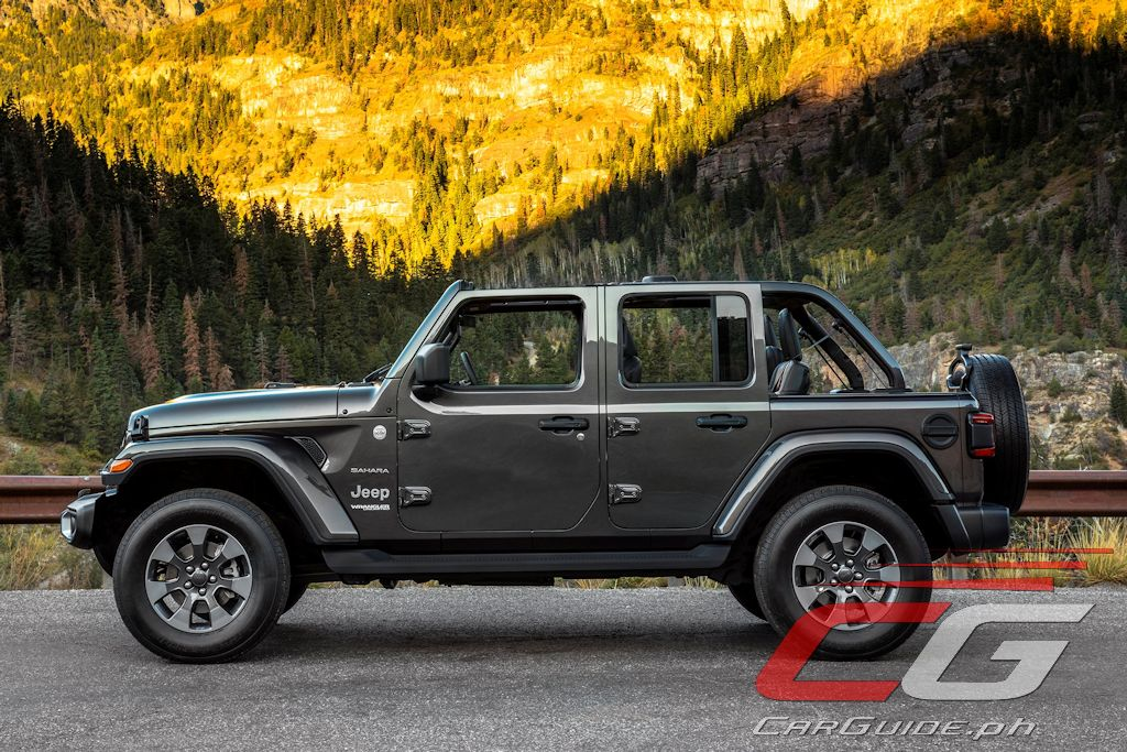 All New 2018 Jeep Wrangler Retains Iconic Looks Features