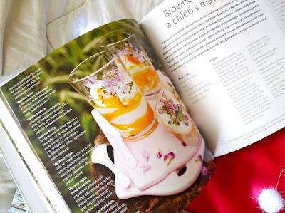 Květinová kuchařka – recept, ukázka (Jana Vlková, nakladatelství Smart Press)