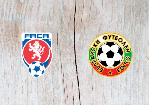 Czech Republic vs Bulgaria - Highlights 7 June 2019