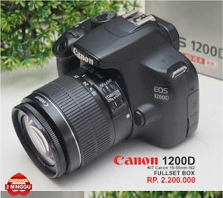 Jual DSLR Canon Eos 1200D Second