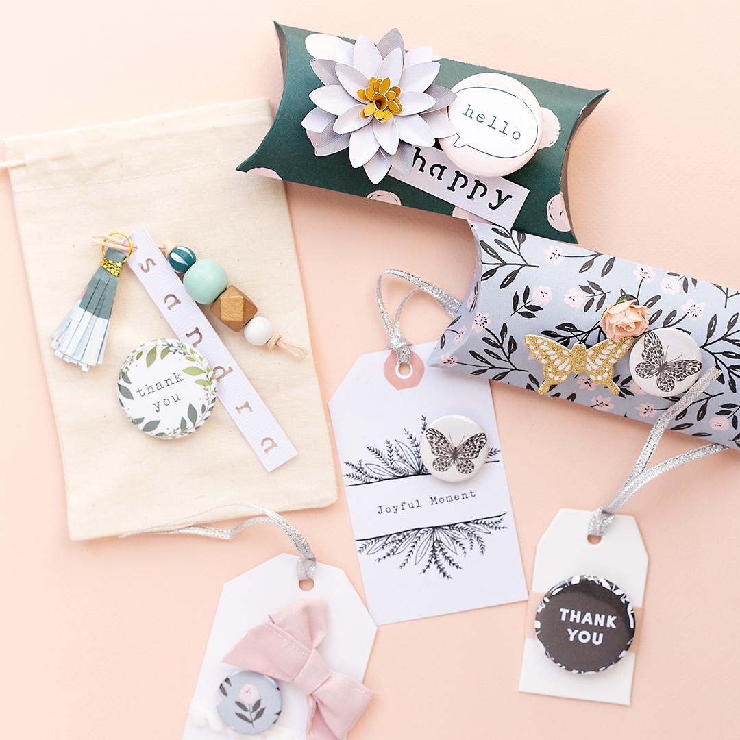WRMK Button Press Make cute gifts