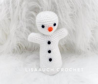 crochet snowman basic pattern
