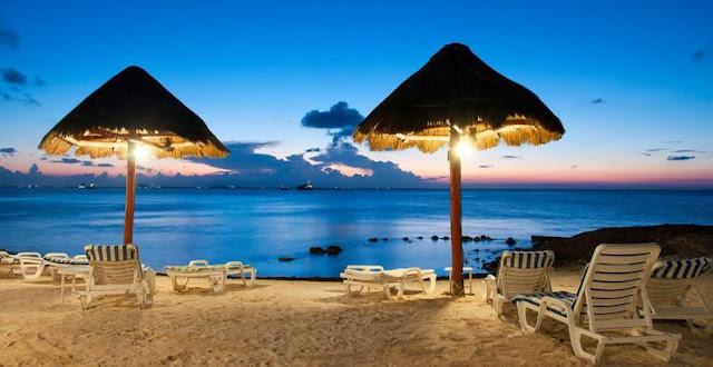 Como é o fuso horário em Cancún?