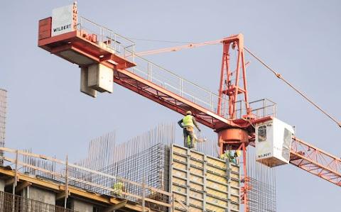 Az építőipar változékony teljesítményével is jelentősen hozzájárul a gazdasági növekedéshez