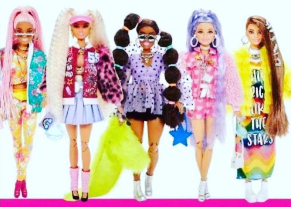 Новые куклы Barbie Extra Wave 2