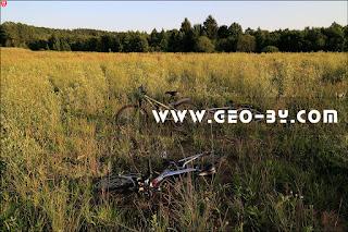 Три велосипеда у ДОТ №4