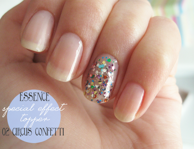 top coat essence circus confetti