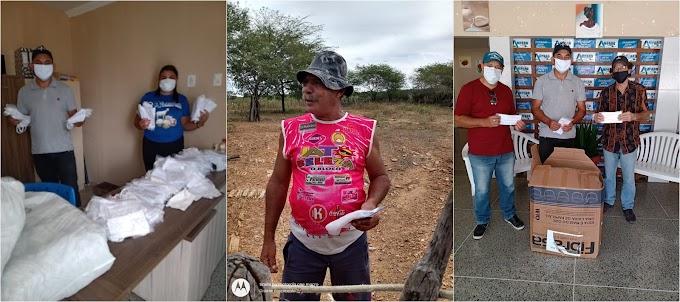 Secretaria de Assistência Social em parceria com o Governo do Estado distribuiu máscaras reutilizáveis para benefíciarios do programa bolsa família