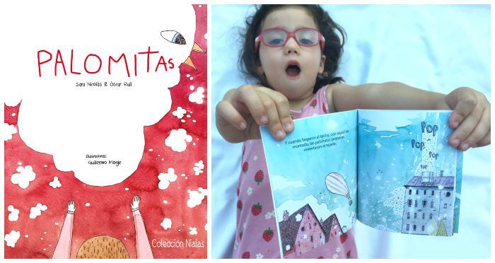 mini libros cuentos en formato pequeño snacks tragamanzanas palomitas