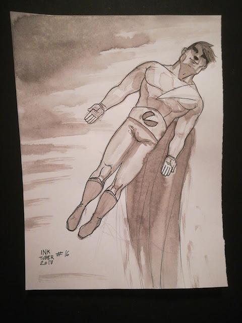 La Folgore non è altro che la mia idealizzazione di supereroe basata sull'immagine del Superman interpretato da Cristopher Reeve.
