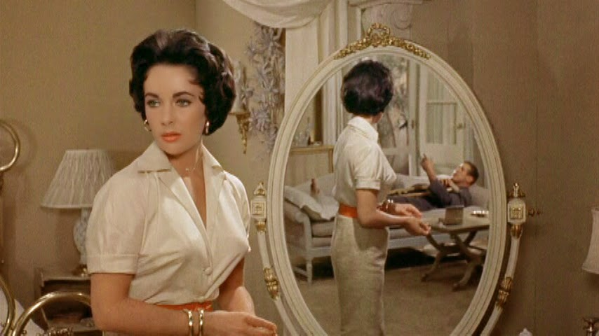 Elizabeth Taylor On The Set With Martha Maggie The Cat Kate The