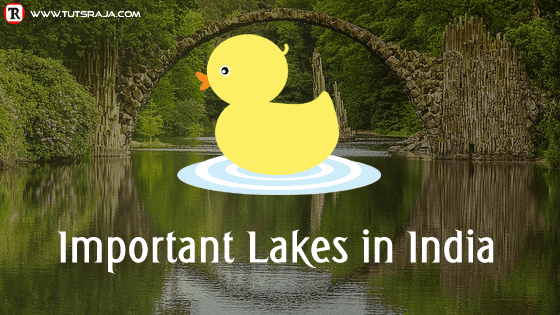 Lakes in India