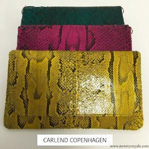 Princess Mary style Carlend Copenhagen Vanessa Original Python