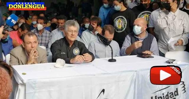 Henry Ramos Allup dice que Guaidó participará en las elecciones de noviembre quiera o no quiera